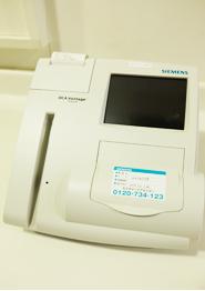 尿中アルブミン測定器